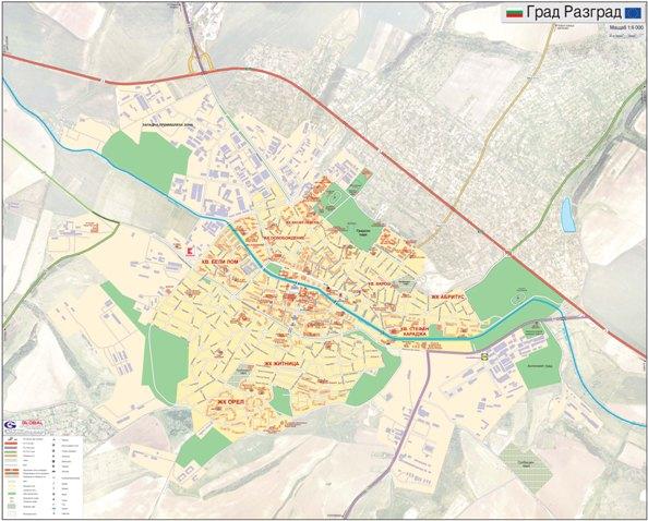 Karta Na Razgrad